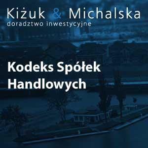 KSH - Kodeks Spółek Handlowych